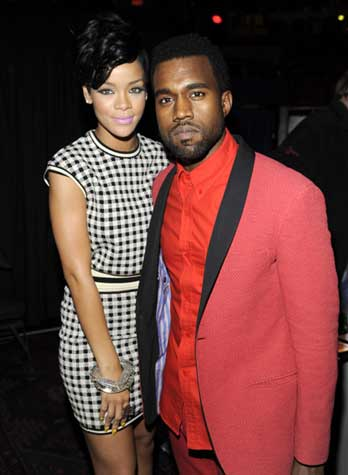 rihanna and kanye west all of lights. release of Kanye West#39;s