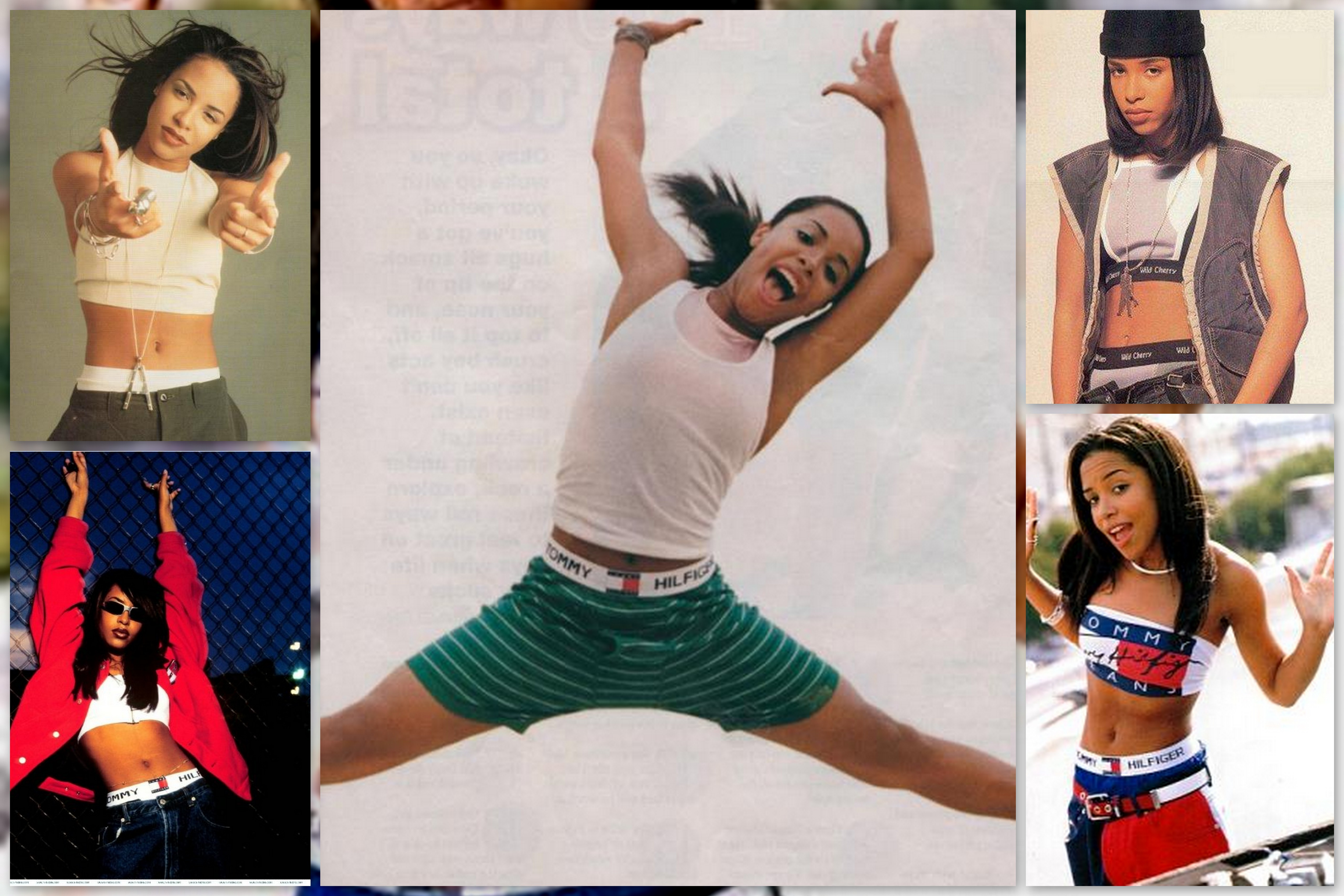 1000 Images About Aaliyah Style On Pinterest